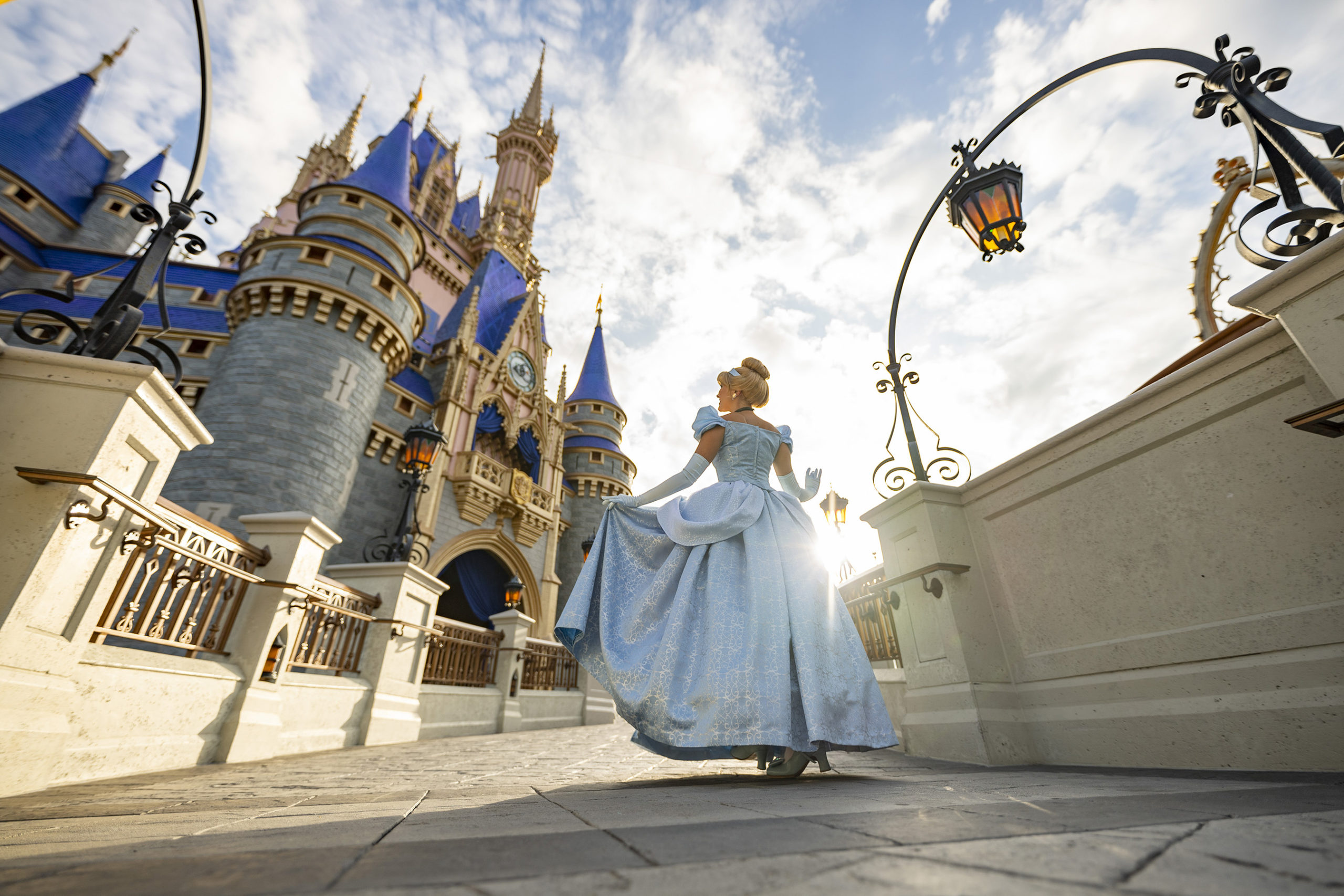 Cinderella Castle Mickey