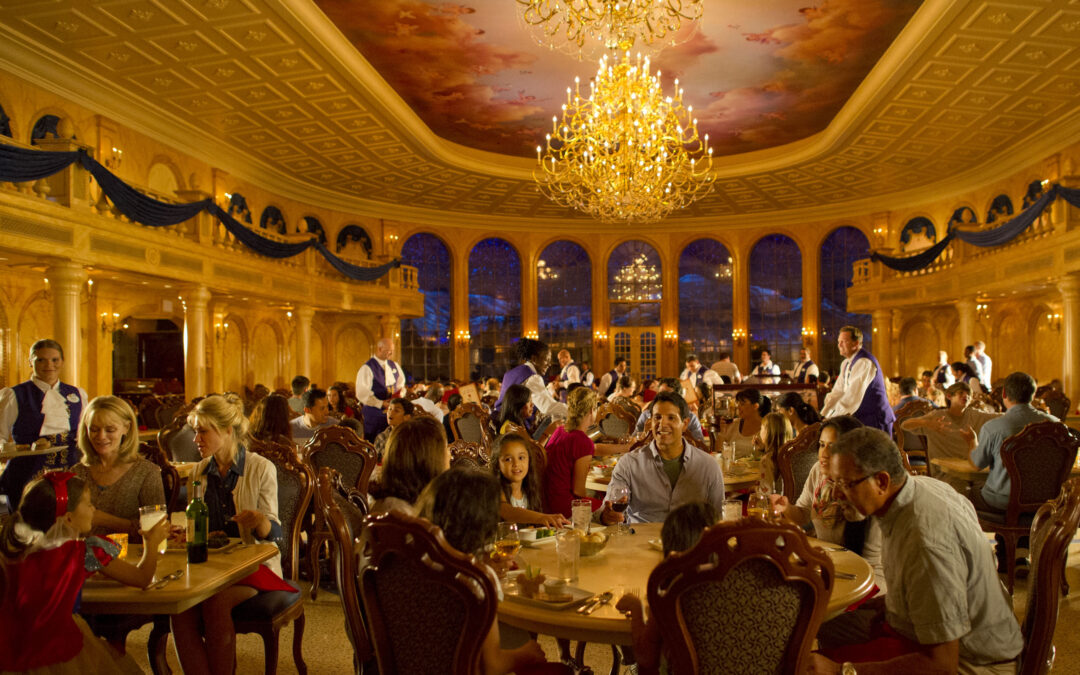 Dine Inside a Movie at Be Our Guest