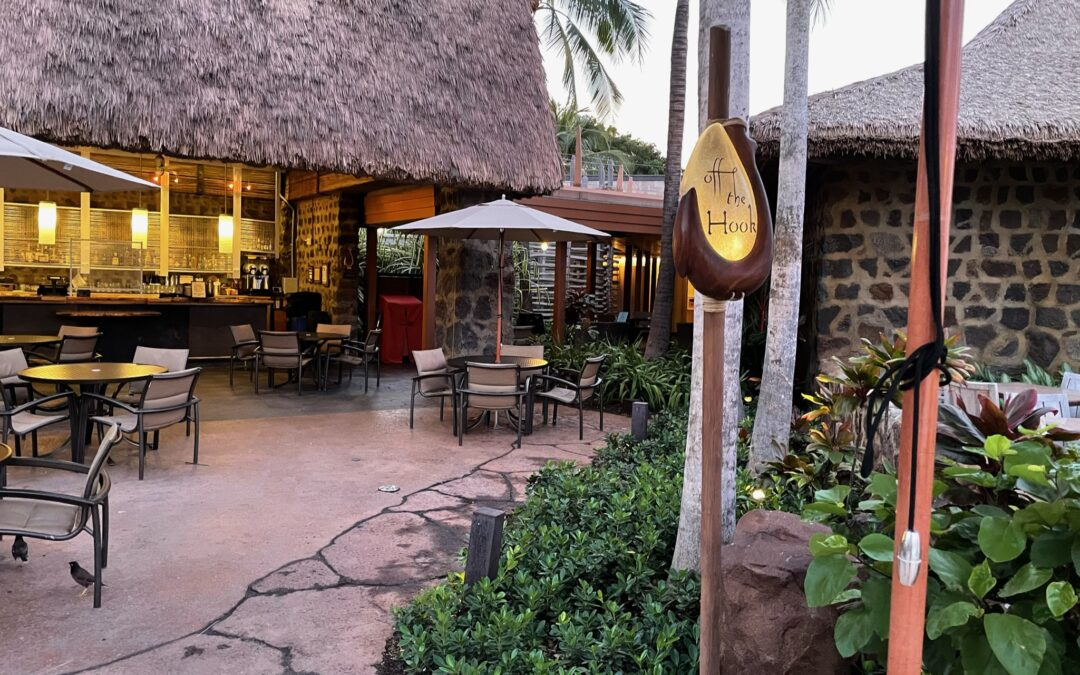 Dining at Aulani – Off the Hook