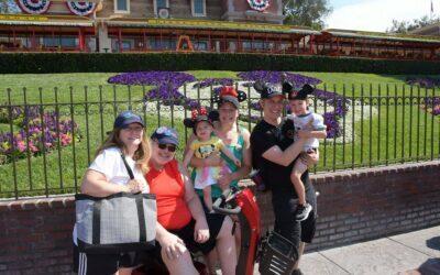 Three Generations at Disneyland