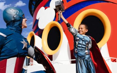 Three Disney Ships, a World of Marvel Adventure!